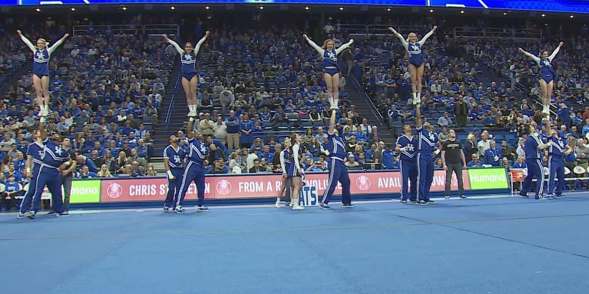 University of Kentucky fires cheerleading staff after