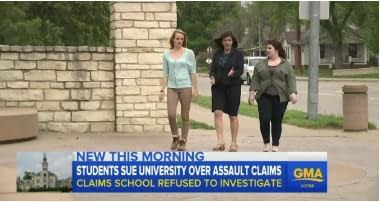 Good Morning America Features TFNLG Title IX Attorney Cari Simon and Our Lawsuit Against Kansas State University